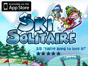 "Ski Solitaire named EuroGamer ""App of the Day"""